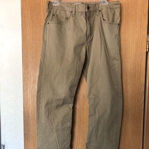 Men's Wrangler Straight Fit Flex Pants 32x30